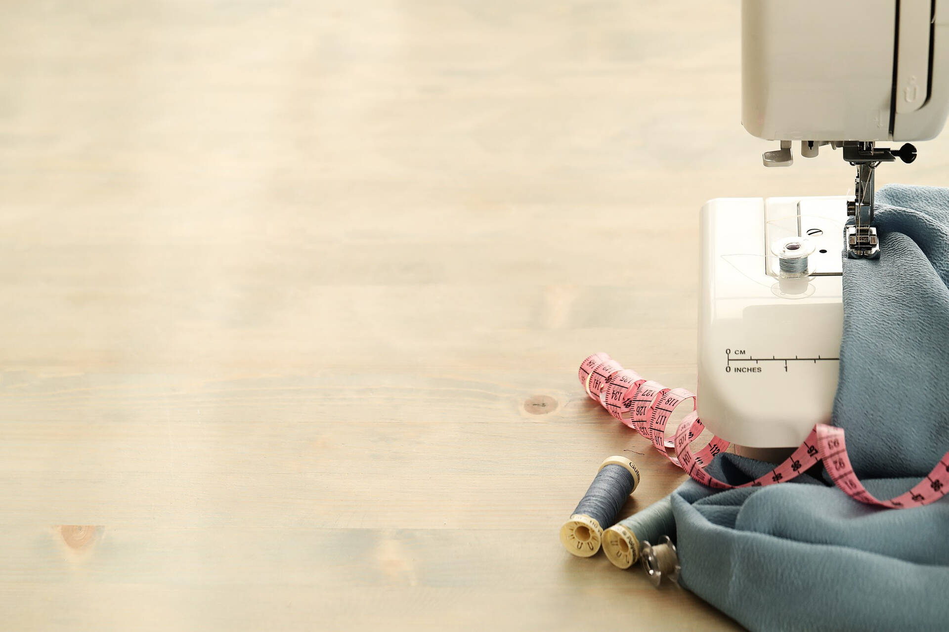 verschillende soorten naaimachines